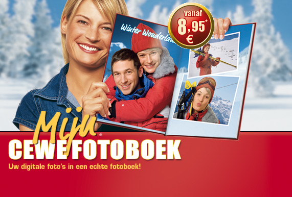 Mijn CeWe Fotoalbum - Uw digitale fotos in een echt fotoboek! Hier software gratis downloaden